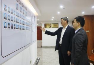 海南省知识产权协会常务副会长陈欢先生莅临我所参观考察